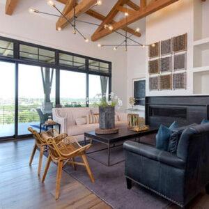 E-Series 4-panel (bi-parting gliding) patio doors; E-Series transom windows; Black interior, Black hardware  Lakeway, Texas (TX)  Builder: Arbogast Custom Homes   Keywords: